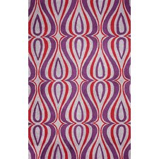 Uzbek Purple Luciano Area Rug