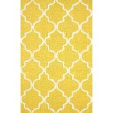 Varanas Yellow Holly Area Rug