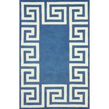 Filigree Blue/White Santorini Area Rug