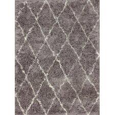 Moderna Grey Moroccan Shag Area Rug