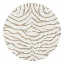 Earth Safari Zebra Grey Area Rug