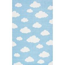 Cloudy Sachiko Blue Area Rug