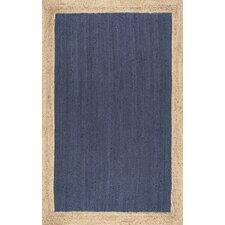Eleonora Hand-Woven Blue Area Rug