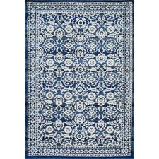 Turnbull Dark Blue Area Rug
