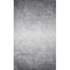 Bernetta Hand Tufted Ombre Gray Area Rug
