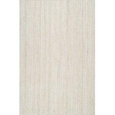 Rigo Hand-Woven White Area Rug