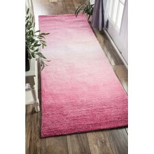 Ombre Bernetta Hand-Tufted Pink Area Rug