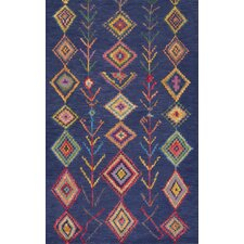 Belini Hand-Tufted Blue Area Rug