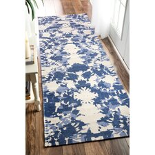 Charise Hand-Woven Blue Area Rug