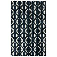 Hudson Pop Black Area Rug