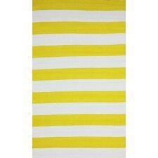 Brilliance Yellow Nautical Bold Area Rug