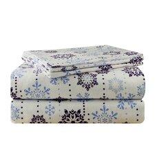 Snow Drop Flannel Sheet Set