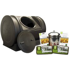 Wizard 7 cu. ft. Tumbler Composter with Accessory