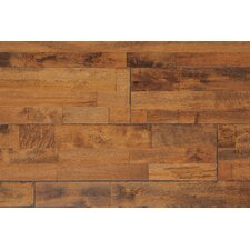 "Hart 7-7/8"" Solid Birch Hardwood Flooring in Burled"
