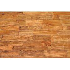 "Huntington 7-7/8"" Solid Acacia Hardwood Flooring in Natural"
