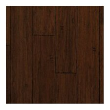 "Strand Woven 5-1/5"" Solid Bamboo Hardwood Flooring in Demode Java"