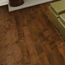 "Fiji 6-19/50"" Engineered Birch Hardwood Flooring in Brown"
