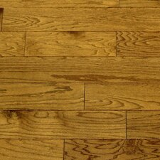 "Dakota II 5-1/2"" Engineered Red Oak Hardwood Flooring in Saddle"