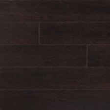 """Strand Woven 5"""" Solid Bamboo Hardwood Flooring in Python Brown"""
