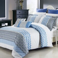 Mykonos 3 Piece Duvet Cover Set