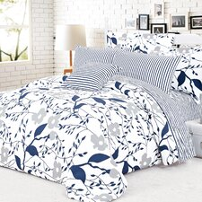 Cynthia 4 Piece Duvet Cover Set