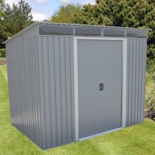 8.6 Ft. W x 6 Ft. D Metal Lean-To Shed