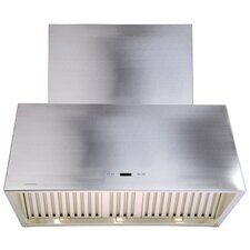 "42"" 900 CFM Ductless Wall Mount Range Hood"