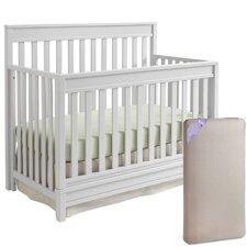 Bella 4-in-1 Convertible Crib with Mattress