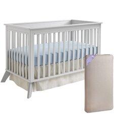 Bella 3-in-1 Convertible Crib with Mattress