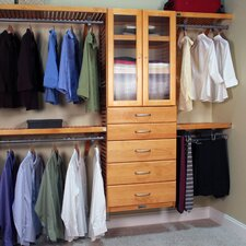 "John Louis Home 120"" Wide Closet System"