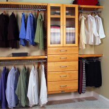 """120"""" Wide Closet System"""
