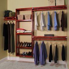 "John Louis Home 96"" Wide Closet System"