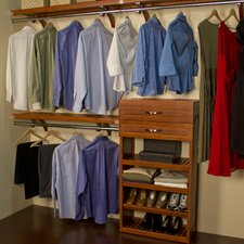 "Woodcrest 120"" Wide Closet System"
