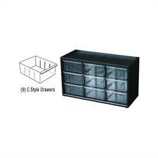 Parts-Station 9 Drawer Plastic Parts Cabinet