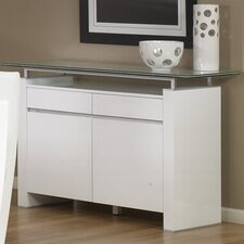 Tiffany Buffet Base in White