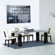 Tiffany Dining Table Base in Dark Walnut