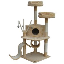 "55"" Whiskers Cat Tree"