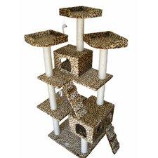 """72"""" Leopard Cat Tree"""