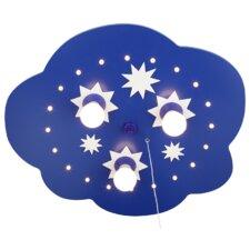 Deckenleuchte 3-flammig Sternenwolke