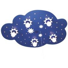Deckenleuchte 5-flammig Sternenwolke