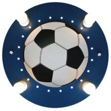 Aufbauleuchte 4-flammig Fußball