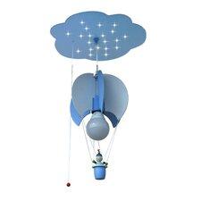 Design-Pendelleuchte 21-flammig Ballonwolke