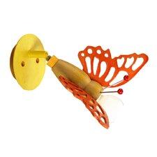 Wandstrahler 1-flammig Schmetterling