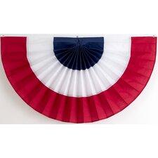 3 Stripe Pleated Flag