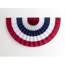 5 Stripe Pleated Flag
