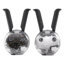 Vibe Mini Magnetic PepperBall® and SaltBall™ Set (Set of 4)