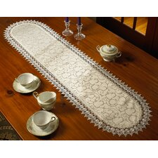 Flower Bow Table Runner