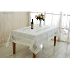 Versalies Embroidered Oblong / Rectangle Tablecloth