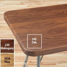 Woodgrain Elastic Table Cover