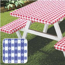 Deluxe Picnic Table Cover (Set of 3)